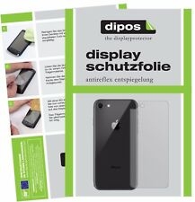 2x Apple iPhone 8 Rueckseite Schutzfolie matt Displayschutzfolie Folie Display