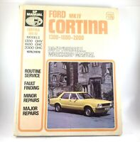 Ford Cortina MK IV 1300 / 1600 / 2000cc Do it yourself Manual 1976/78 SP Manual