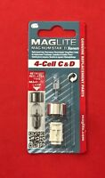 MAGLITE Mag-Num Star II Xenon Bulb for 4-Cell C & D Torch LMXA401L NEW & SEALED