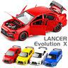 Mitsubishi Lancer Evolution X 1:32 Diecast Model Car Toy Collection Light&Sound
