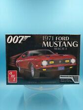 AMT James Bond 1971 Ford Mustang Mach I Car 1/25 1187 Plastic Model Kit