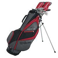 Wilson Profile XD Men's RH Flex Graphite Steel Golf Club Stand Bag Package Set