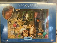 Kitten Capers - Discoveries 1000 Piece Gibsons Puzzle (SEALED)