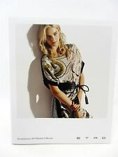 """ETRO Spring Summer 2014 Women's Collection - approx 7"""" x 8.75"""" 45 pages"""