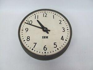 Vintage IBM Electric Wall Clock (School Factory Office)