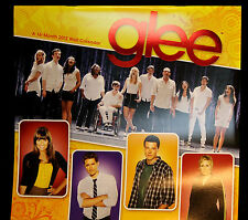 2012 Glee Singers Cory Monteith Finn Hudson Jane Lynch Sue Wall Calender