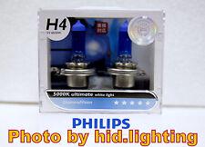 Genuine Philips Diamond Vision H4 5000K headlight bulb 12342 9003 HB2 light beam