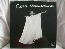 VINYL 33T – CORA VAUCAIRE – ORIG FESTIVAL 1978 – ARNAUD DE FROBERVILLE