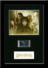 Lord of the Rings Fellowship Framed 35mm Mounted Film cells - filmcell movie