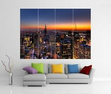 NEW YORK GIANT WALL ART PRINT POSTER H119