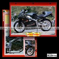 #075.04 Fiche Moto RUMI RMS 650 SUPERMONO 1993 Sport Motorcycle Card