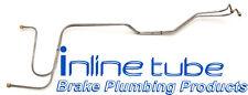 66-67 Chevelle Powerglide SB Transmission Trans Cooler Lines Tubes Fluid Steel