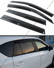 FOR 2006-12 TOYOTA RAV4JDM MUGEN 3D STYLE SMOKED WINDOW VISOR VENT SHADE GUARD