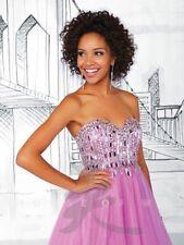 Tiffany 61103 Geranium Pink Prom Gown Dress sz 0 Flash SALE!! NWT