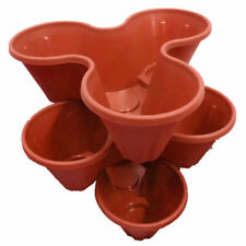 Terracotta Flower & Plant Strawberry Planters Boxes