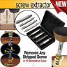4 in 1 Screw Extractor Drill Bits Guide Set Damaged Bolt Remover Speed Out Tools