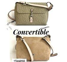 CK Calvin Klein Reversible Pebble PYC Crossbody Bag Natural/Soft Pink