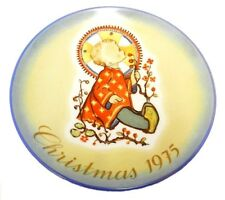 1975 Berta Hummel Christmas Plate Child West Germany Limited Edition Vintage
