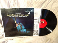 Fritz Reiner LP Tchaikovsky: Pathetique Symphony Mono Shaded Dog VG+/NM-