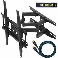 "Cheetah Mounts APDAM3B Dual Articulating Arm (14"" Extension) TV Wall Mount"