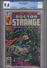 Doctor Strange #35  CGC 9.6 Marvel Comic 1979: : NEW Frame: Price Drop!