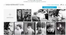LOT 9 PHOTOS SARAH BERNHARDT  REPRODUCTIONS
