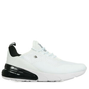 Chaussures Baskets British Knights homme Valen taille Blanc Blanche Synthétique