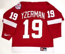 STEVE YZERMAN DETROIT RED WINGS NIKE 1998 STANLEY CUP JERSEY SIZE MEDIUM