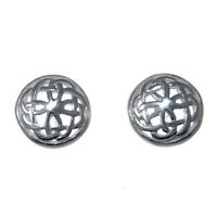 Sterling Silver Celtic Earrings with Gift Box - Stud earrings
