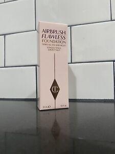 Charlotte Tilbury Airbrush Flawless Foundation Full Size -1oz/30ml-7 Warm