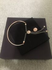 Monica Vinader Fiji Friendship Rose Gold Color Bracelet With Rose Cord