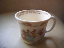 ROYAL DOULTON ~ BUNNYKINS Mug /Cup  Marriage Prince Andrew & Sarah Ferguson 1986