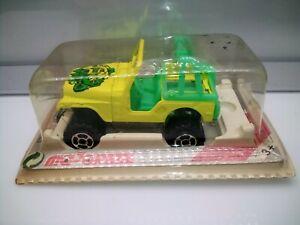 Majorette  #290 Jeep CJ5 Rollbar - 4x4 - Model Car
