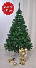 Albero di Natale Artificiale Finto Abete Plastica 1,2m