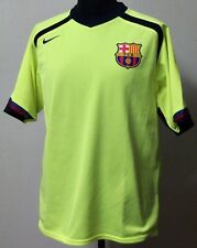 MONDO REPLICA  BARCELLONA TOTAL 90 GIALLO FLUO  3 ^ MAGLIA AWAY MEDIUM M