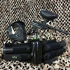 NEW Kingman Spyder Victor LEGENDARY Paintball Gun Package Kit - Diamond Black