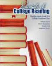 Essentials of College Reading: Reading Levels Grade 9 to College Freshman Year