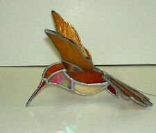 Stained Glass Rufous Humming Bird Mobile.