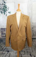 RALPH LAUREN Safari camel brown Cotton jacket blazer size 42 r