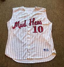 New listing Vintage Toledo Mud Hens Minor League Russell Athletic Sleeveless Baseball Jersey
