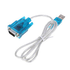 9 pin RS232 USB Serial Adapter Converter Cable