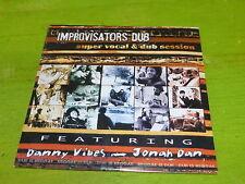 IMPROVISATORS DUB - DANNY VIBES - JONAH DAN !CD PROMO!!!!!!!!!!