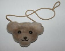 STEIFF TEDDY BEAR CHANGE PURSE--RARE VINTAGE ESTATE PIECE--LOOK NR! CUTE!