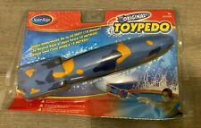 """2006 SwimWays #00350  11.5""""Original Toypedo (Blue, Orange, Navy) New And Sealed"""