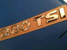 LOGO 280 TSI VW GOLF 7 VII MK7 ARRIÈRE BADGE EMBLÈME ORIGINAL 5G0853675BA