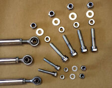 CITROEN SAXO / PEUGEOT 106 - ROSE JOINTED GEAR LINKAGES / RODS SET OF 3