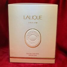 """Lalique """"Sheherazade"""" scent bottle with original custom fitted box and cert"""