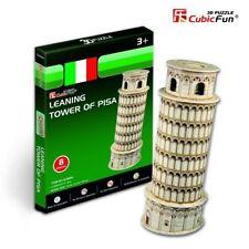 Puzzle Cubic Fun 8 Teile - Puzzle 3D Mini - Schiefer Turm, Pisa (41851)