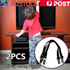 Anti Tip Safety Straps Flat Screen TV Fix Anchor Baby Child Secure Proofing
