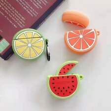 Cute Cartoon Fruit Silicone Earphone Case For Apple AirPods 1st/2nd Charging Box